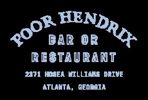 Poor Hendrix Bar and Resteraunt Logo